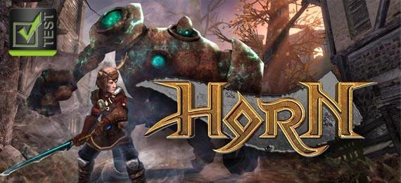Gametest Horn von Zynga