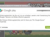 Google Play Store: Bewertungen ab sofort nur noch mit Google+ Konto möglich