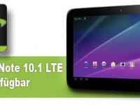 Samsung Galaxy Note 10.1 LTE: Telekom kündigt Verkaufsstart an
