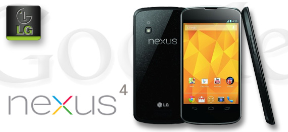 Nexus 4 mit Android 4.3 Jelly Bean