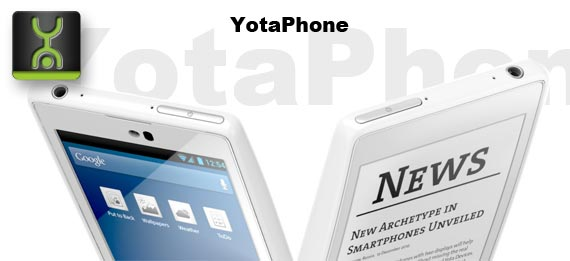 YotaPhone mit eInk Display kommt im November