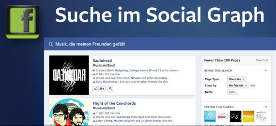 Pressetermin in Menlo Park: Kein Facebook-Phone, dafür die Social-Graph-Suche