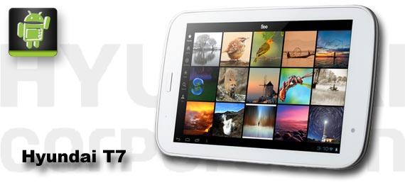 Hyundai T7: Kleines Tablet mit Samsung-Quadcore für wenig Geld