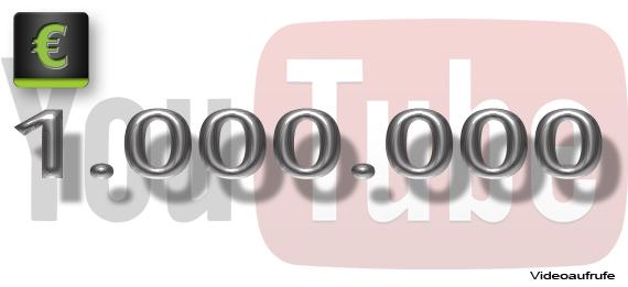 """Der Gewinner für unser """"1 Million YouTube Zuschauer"""" steht fest!"""