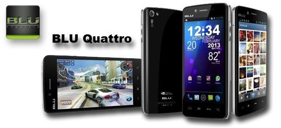 BLU Quattro: 3 Günstige Smartphones mit Tegra3