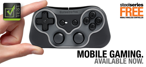 [Test] SteelSeries Free Wireless Controller