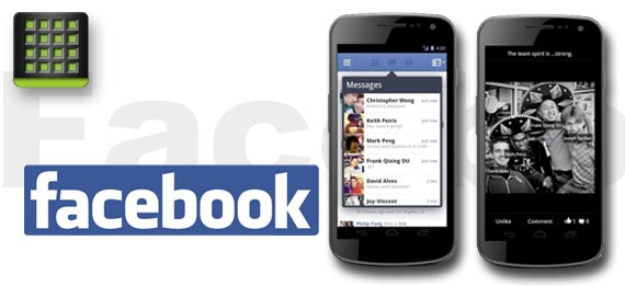 Facebook Home und HTC First