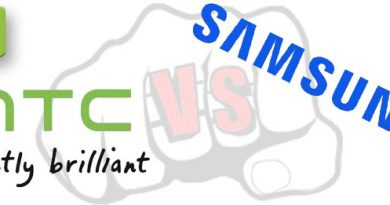 HTC vs. Samsung