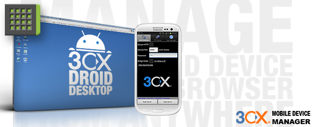 3CX Mobile Device Manager