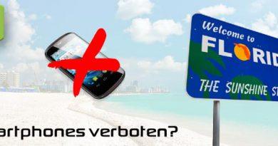 Florida verbietet per Gesetz Smartphones und Tablets