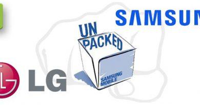 Samsung gegen LG wegen Unpack