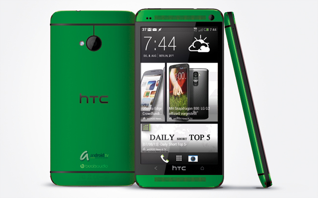 HTC One Green