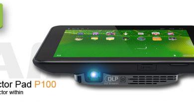 Aiptek Projector Pad P100