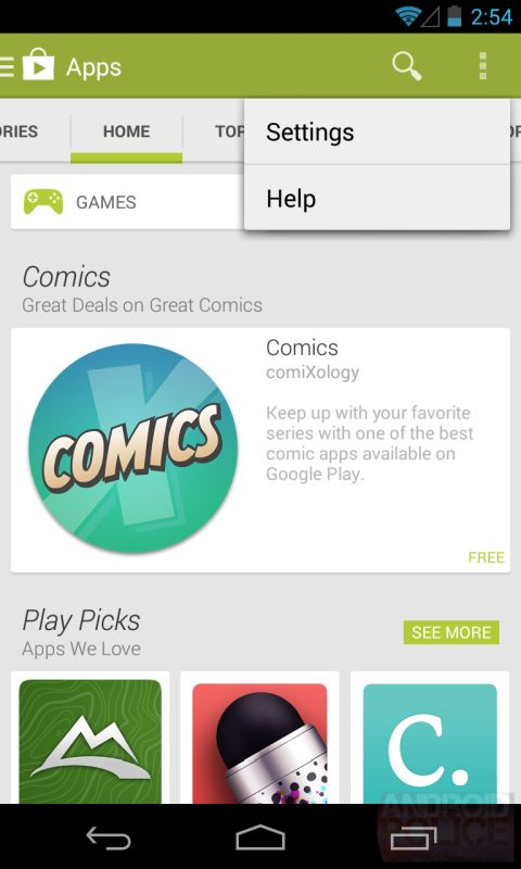 Google Play Store 4.4