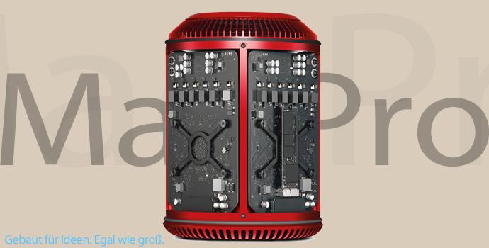 Roter Mac Pro