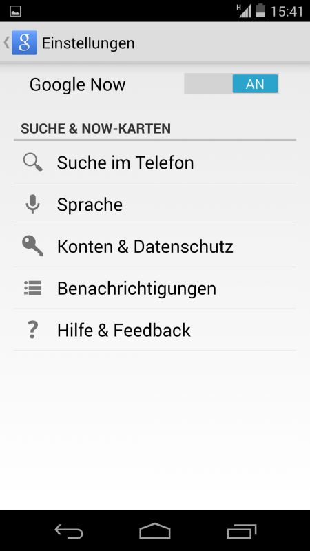 Nexus 5 und das Hotword
