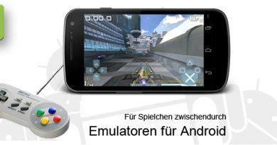 Emulatoren für Android