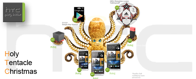 HTC Holy Tentacle Christmas