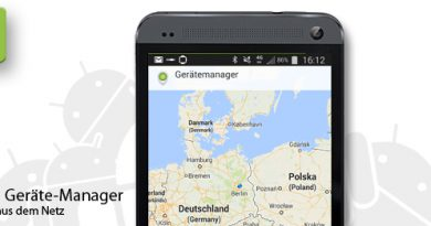 Android Geräte-Manager