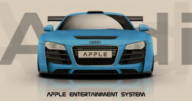 Audi mit iOS in the car (iCar)