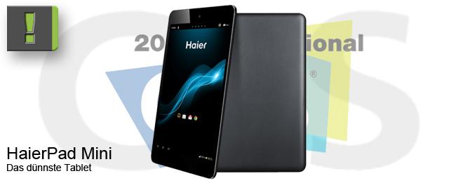 Haier mit HaierPad Mini 781