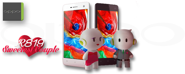 Oppo R819 Sweetest Couple