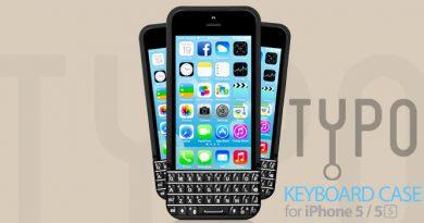 Typo Hardware-Tastatur für das iPhone 5