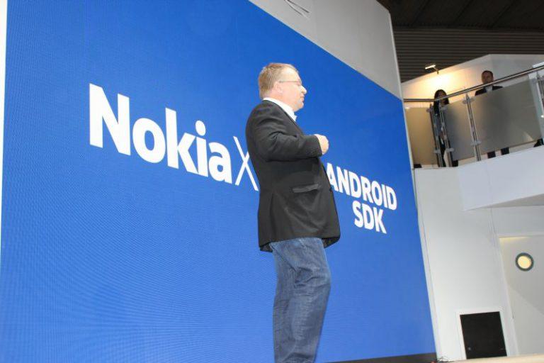 MWC 2014 Nokia X