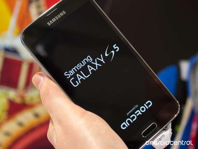 Samsung Galaxy S5 Bootlogo