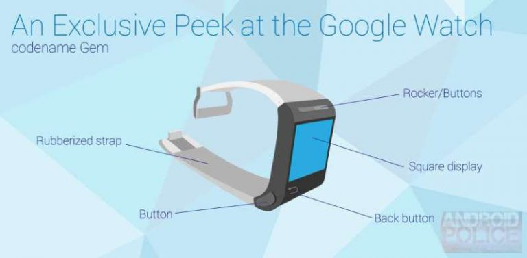 Google Watch Prototyp
