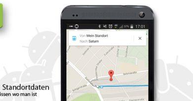 Android Standortdaten