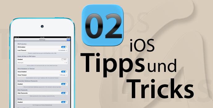 KeePass unter iOS - MiniKeePass