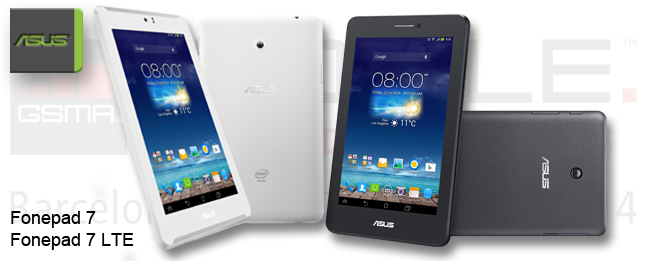 MWC 2014 ASUS Fonepad 7 LTE