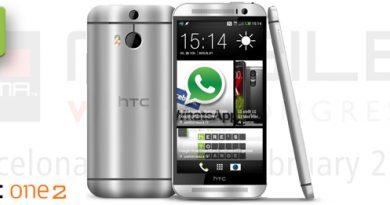 MWC 2014 HTC One 2 Kamera
