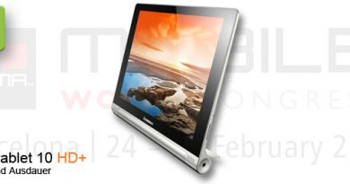 MWC 2014 Lenovo Yoga Tablet 10 HD+