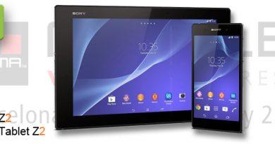 MWC 2014 Sony Xperia Z2