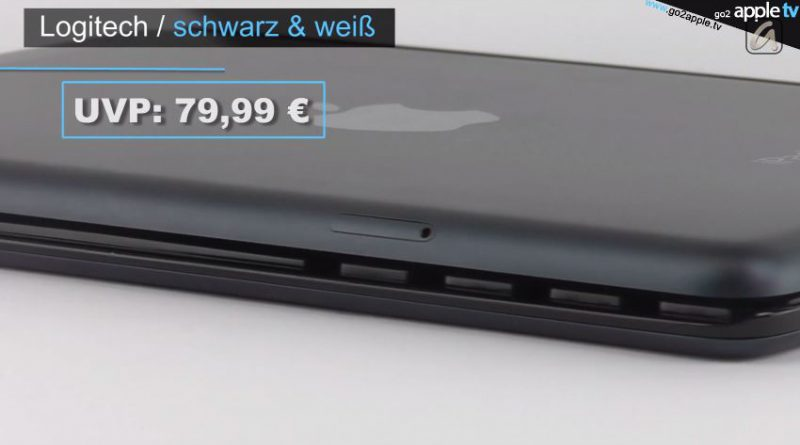 [Video] Logitech Ultrathin Keyboard Cover für iPad mini - First touch & view