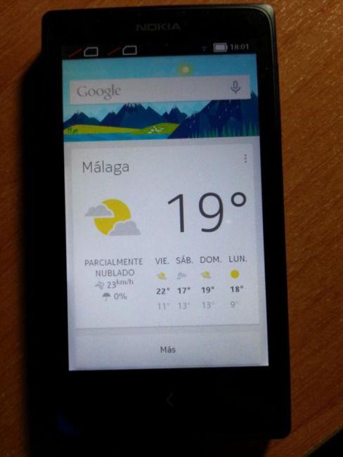 Nokia X mit Google Play Services
