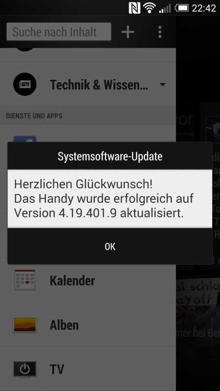 HTC One Android 4.4 KitKat Update