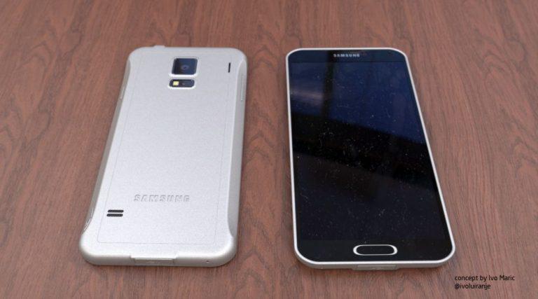 Samsung Galaxy F Konzept