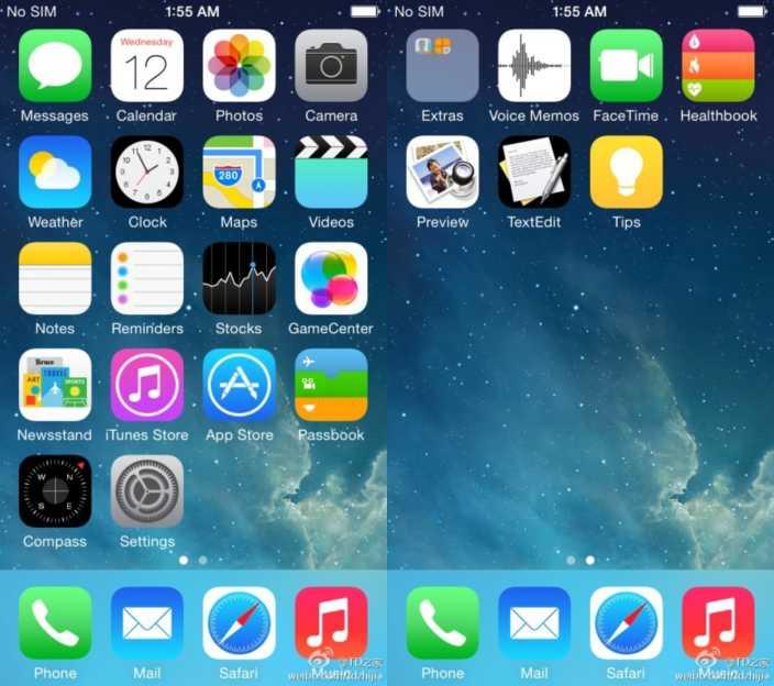 iOS 8 Leak