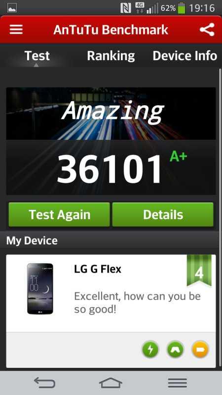 LG G Flex Test