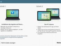 Samsung Galaxy NotePRO 12.2 Test Remote PC