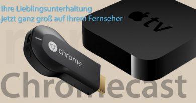 Google Chromecast vs. Apple TV