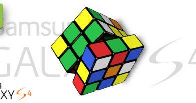 Galaxy S4 Rubik Cube