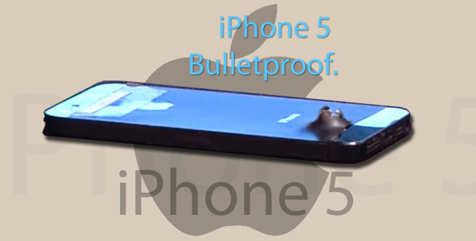 iPhone 5 Bulletproof