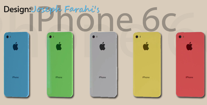 iPhone 6c Designstudie