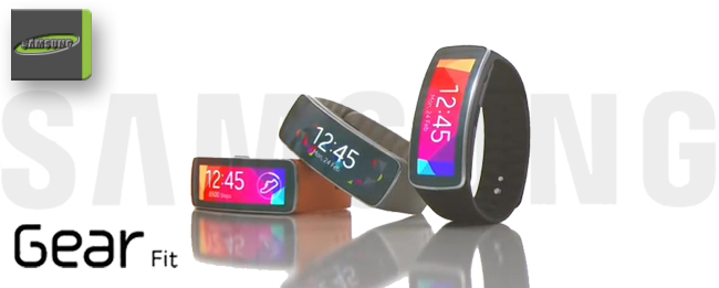 Samsung Gear Fit als Fitness-Companion