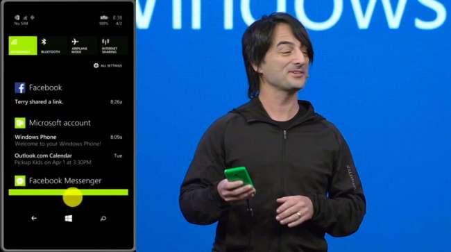 Windows Phone 8.1 Notebook