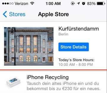 Apple iPhone Trade-In für Deutschland
